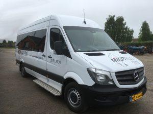 minibus med mulighed for kørestol