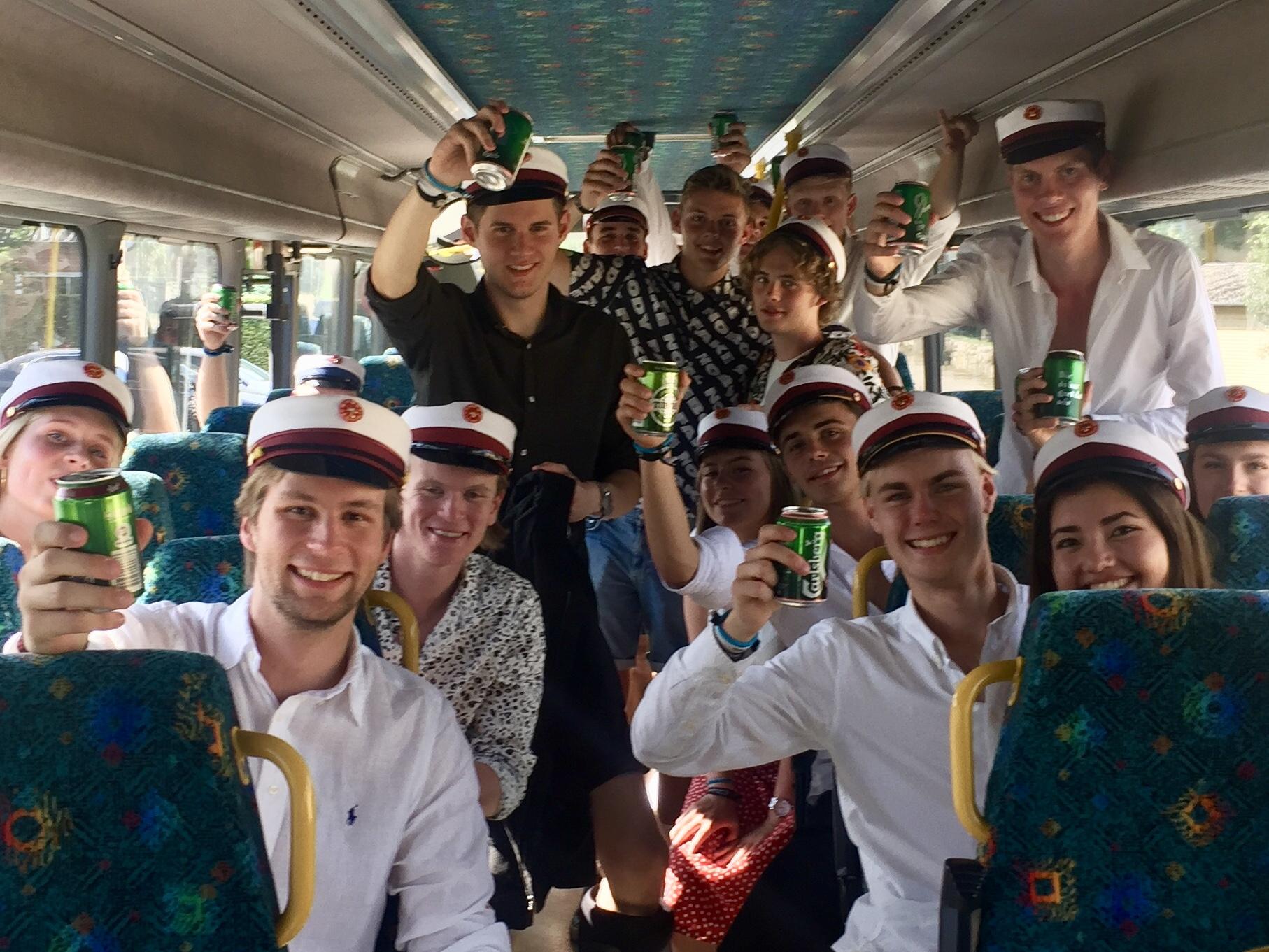 Studenterkørsel i bus 2019