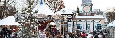 Stemningsbillede fra Julemarked i Tivoli København